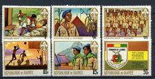 Guinea 1969 SG # 693-8 PIONEER gioventù Org. BOY SCOUT MNH Set #A 32397