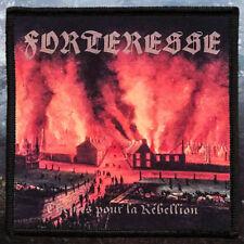 Forteresse - Thèmes pour la rébellion | Printed Patch | Black Metal
