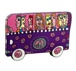 A Bus Ride Keyboard Key Board James Rizzi Goebel Porcelain Popart 26100776
