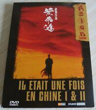 DIGIPACK 2 DVD IL ETAIT UNE FOIS EN CHINE 1 & 2 LA SECTE DU LOTUS BLANC JET LI