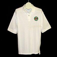 UNITED STATES CENTRAL COMMAND White Polo Shirt Mens L