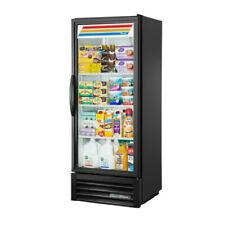 "True Gdm-12-Hc~Tsl01 25"" Black Glass Door Refrigerated Merchandiser w/ Led Light"