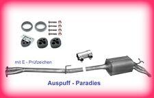 Abgasanlage Auspuff Schalldämpfer Mercedes Benz E320 CDi W210 E-Klasse Limo.+Kit