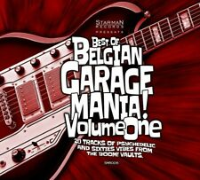 BEST OF BELGIAN GARAGE MANIA VOL.1 - SOAP EATERS, THEE TROUBLE -  CD NEUF