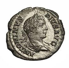 Caracalla AR Silver Denarius Rome Mint 205AD Ancient Roman Coin RIC.80b