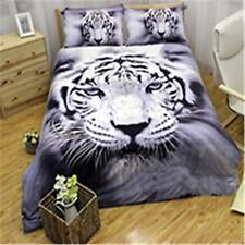 Tiger Bedding Duvet Cover Twin 3D Animal Printed Bedding Set for Kids Boys T.