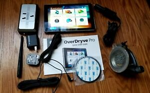 """RAND McNALLY OverDryve 8 PRO 8"""" Truck GPS TABLET w/DashCam & Bluetooth OD8Pro"""