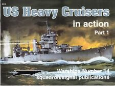 Squadron signal Warship US Heavy Cruisers in action Part 1 ( 2. Weltkrieg Marine