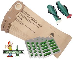 Staubsaugerbeutel Filtertüten geeignet Vorwerk Kobold VK 118 119 120 121 122