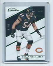 2016 Prime Signatures FB Card #111 Brian Urlacher Bears GREEN PROOF #2/10