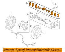 HONDA OEM 15-16 Odyssey Brake-Rear Pads 43022TK8A01