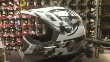 LS2 MX433 Stripe Black Hi-Vi Endurohelm Gr. XL
