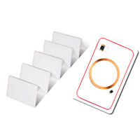 [Lot of 10] 125Khz 13.56Mhz Dual Chip EM4100 MF1KS50 RFID Proximity Smart Cards