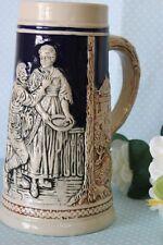 ( NA 3) VECCHIO BOCCALE DA BIRRA IN CERAMICA  h cm18 / VINTAGE BEER STEIN