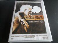 """DVD NEUF """"NICK'S MOVIE"""" Nicholas RAY / Wim WENDERS"""