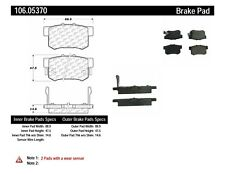 Disc Brake Pad Set-EX Rear,Front Centric 106.05370
