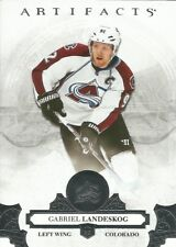Gabriel Landeskog #57 - 2017-18 Artifacts - Base