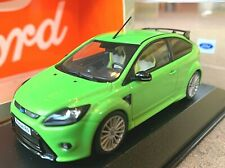 Minichamps Ford Focus RS Ultimate Green 2009 1/43 RARE Dealer Edition model car
