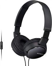 Sony MDR-ZX110B Casque Audio Pliable Noir Son Puissant Rembourré Confort Écoute
