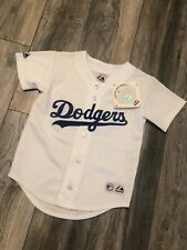 Nwt's Vintage Los Angeles Dodgers Majestic Jersey Youth Small Pro Cut