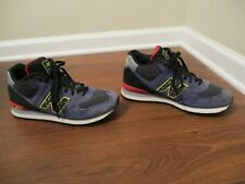 Used Worn Size 10 New Balance 574 Mid Shoes Multi Color
