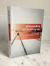 Alexandre Soljenitsyne Pavillons poche Robert Laffont 2010
