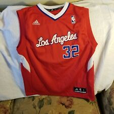 LOS ANGELES CLIPPERS JERSEY - YOUTH MEDIUM - THROWBACK - ADIDAS