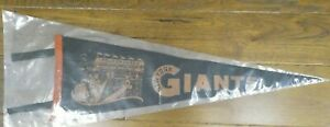 """Super Rare 1930's New York Giants Baseball Pennant Great Condition 25"""""""