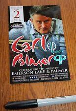 Carl Palmer, The Strawbs double-sided New Postcard B.B. Kings, Elp, Emerson, Nyc