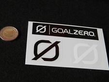 Adesivo stickers   GOALZERO  3pz.  nuovo  mint   delivering abroad cheap