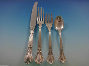 Chantilly by Gorham Sterling Silver Dinner Size Place Setting(s) 4pc