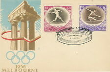 Poland FDC Olympic games (Mi. 988-89) #1