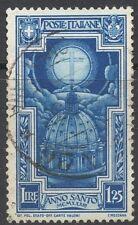 REGNO - NR. 348 - ANNO SANTO 1933 - USATO - PERFETTO