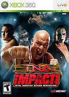 TNA Impact (Microsoft Xbox 360, 2008) COMPLETE FAST SHIPPING ! MIDWAY