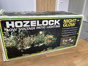 HOZELOCK NIGHT-GLOW GARDEN LIGHTS X 2 NEW MAINS ELECTRIC