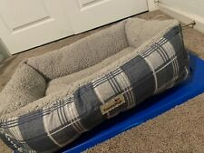 pet bed cat dog bed fleece square comfy puppy kitten