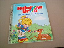 New Listing Vintage Lgb Rainbow Brite & The Brook Meadow Deer 1984 #107-58