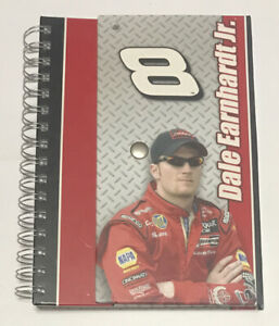 Dale Earnhardt Jr #8 Spiral Notebook Journal with Snap Closure NASCAR