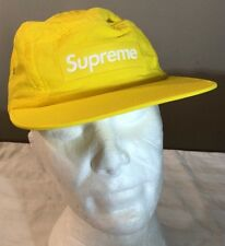 SUPREAME LOGO PATCH CAMP CAP YELLOW M L SS18 WEEK 19 (IN HAND) ce9cc70f2021