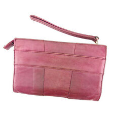 Chloe Wallet Purse Long Wallet Purple Gold Woman Authentic Used L1327