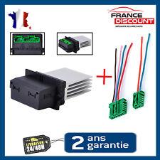 RESISTANCE Module de Puissance CHAUFFAGE ventilation + cable Renault Scenic 2