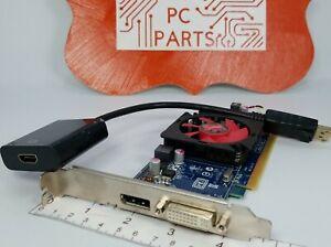 Dell AMD Radeon HD 7470 1GB DDR3 0VVYN4 Video Graphics Card *BAD DVI Port*