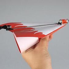 2016 Paper Kid Airplane Conversion Kit Powerup Propeller Gilder Model AI