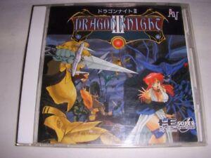 PC-Engine SCD DRAGON KNIGHT III 3 PCE Grafx Game Japan