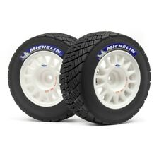 HPI 113850 Wr8 Aluminum Off-Road Wheel, and Tire Set, White 2pcs