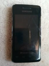 Samsung Galaxy PREVAIL SPH-M820 BOOST Mobile Cell Phone Android BLACK camera GPS