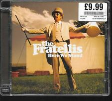 CD ALBUM 12 TITRES--THE FRATELLIS--HERE WE STAND--2008
