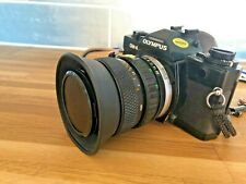 Olympus OM4 Spot/Program 35mm SLR Film Camera & Zuiko 28mm - 48mm Zoom Lens