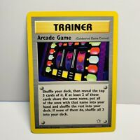 Arcade Game Trainer 83/111 Neo Genesis Pokemon Card NON-HOLO RARE WOTC