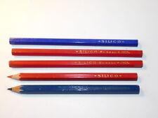 VINTAGE lot 5 gros CRAYON SILICO baignol 649 FRANCE ancien PENCIL Bleistift PEN